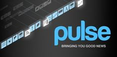 Meet Pulse. A beautiful application that makes reading news fun and engaging.  Pulse News is a beautiful app that takes your favorite websites and transforms them into a colorful and interactive mosaic. Tap on an article to see a clean and elegant view of the news story. Save stories for reading later across all platforms or sync them with Instapaper, Read it Later and Evernote. Sharing a story via Facebook, Twitter and email is as easy as two taps.