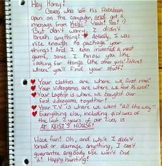 Epic breakup letter!!!haha!!