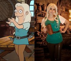 Cosplay Anime Costume Princess Bean Disenchantment cosplay by EnotArt -