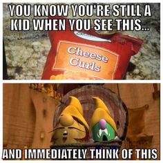 15 More Signs You Were a True VeggieTales Kid | Project Inspired