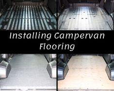 Camper Van Flooring and Campervan Floor Insulation to your new van conversion is vital to creating a warm, comfortable and inviting space. Van Conversion Interior, Camper Van Conversion Diy, Van Interior, Van Insulation, Van Conversion Floor Insulation, Van Conversion Floor Plans, Truck Bed Camper, Mini Camper, Camper Life