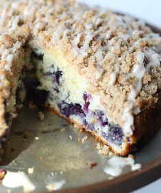 Delicious Blueberry Muffin Cake Recipe!