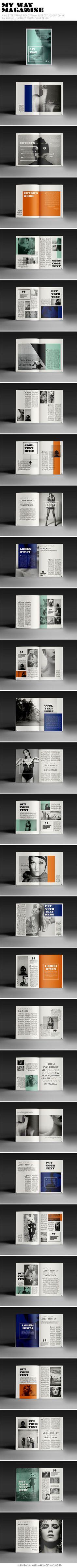 My Way Magazine - crew55design