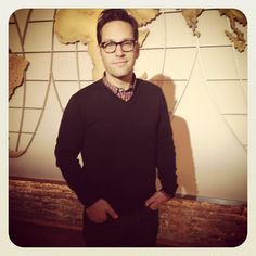 Paul Rudd loved our Cronkite map, too!