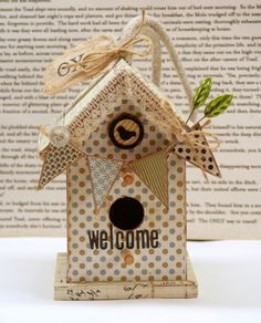 Papercraft projects | Belle Papier {pretty paper} | Page 6