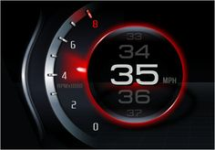 future cars instrument cluster - Google Search