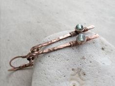 Apatite Bar Earrings, Manifestation Stone, Throat Chakra, Modern, Hammered, Dangle, Brass, Copper, Sterling Silver, Gold, Rustic, Boho by JustynaSart on Etsy https://www.etsy.com/listing/272736198/apatite-bar-earrings-manifestation-stone