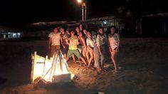 Noche de integración en Manta con los compañeros de la Carrera de Hoteleria