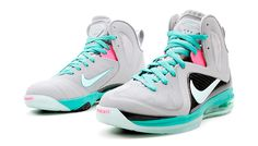 """South Beach"" Lebron 9 Hot or Not @LaceMeUpNews"