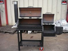 Build a BBQ Smoker Plans | ... barbecue pits grills smokers tailgating barbecue grills and smokers