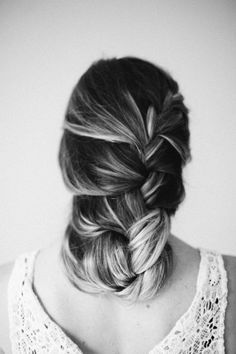 The loose french braid: http://www.stylemepretty.com/living/2014/01/17/8-hairstyles-every-girl-should-know/