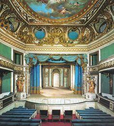 Versailles, le petit théâtre de Marie-Antoinette au Trianon