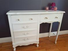 Door Furniture, Furniture Refinishing, Vanity, Doors, Red, Home Decor, Dressing Tables, Powder Room, Decoration Home
