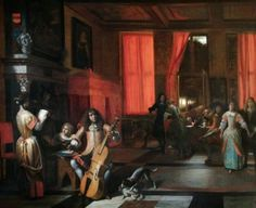 A Musical Party - Pieter de Hooch - 1675, Wellington Museum, London, UK