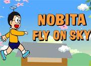 Nobita Fly On Sky | Juegos Doraemon - el gato cosmico jugar