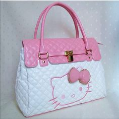 Hello Kitty Tote Bag (smal flaw see pic) on Mercari Sanrio Hello Kitty, Hello Kitty My Melody, Hello Kitty Bag, Hello Kitty Stuff, Hello Kitty Bedroom, Hello Kitty House, Hello Kitty Suitcase, Hello Kitty Merchandise, Hello Kitty Handbags
