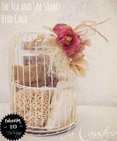 The Tea and Spa Shabby BirdCage es un detalle cálido y original para consentir a mamá con un regalo único con toques de arte que llegan al alma. Incluye un set ecléctico de té y spa con bolsa herm…