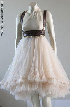 Steampunk Wedding Tulle Tutu Ballet Skirt Bridal by chrisst Tulle Tutu, Tulle Dress, Tulle Skirts, Cute Wedding Dress, Wedding Dresses, Long Skirt Fashion, Easy Costumes, Costume Ideas, Dance Fashion