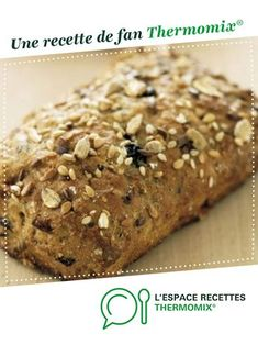 Multi-grain bread by A fan recipe to find in the Breads & Viennoiseries category on www.espace-recett …, of Thermomix®. Pain Thermomix, Dessert Thermomix, Thermomix Bread, Multi Grain Bread, Almond Croissant, Back Pain Remedies, Bread Cake, Grains, Pastries
