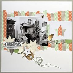 Scrapbooking Ideas for a Pastel Christmas Color Scheme | Amanda Robinson | Get It Scrapped