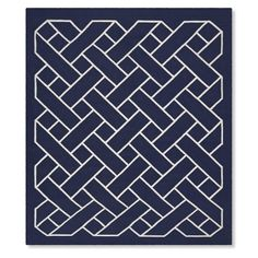 Basketweave Indoor/Outdoor Rug #williamssonoma