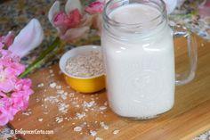 leite de aveia