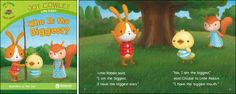 Who is the Biggest?—by Joy Cowley Series: Joy Cowley Early Birds GR Level: D Genre: Narrative, Fiction