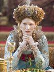 Queen Elizabeth I (Cate Blanchett) 'Elizabeth: The Golden Age' Costume designed by Alexandra Byrne. Elizabeth Movie, Elizabeth The Golden Age, Queen Elizabeth, Theatre Costumes, Movie Costumes, Period Costumes, Period Movies, Period Dramas, Elizabethan Era