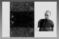 This loosebound black & white lookbook for Paris-based fashion designer Rick Owens uses blocks of gloss black foil as a contrast to the…