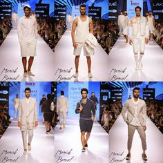 #DesignerManishBansal presented his debut collection at #LakmeFashionWeek #SS2015.  Let's take a look at his collection which was inspired by the people in suits and the gamble of marketing. With a colour palette of off-white and grey, and using felting as an appliqué, the collection featured playing card motifs on array of pieces ranging from long coats and double breasted jackets to shirts and bermudas.