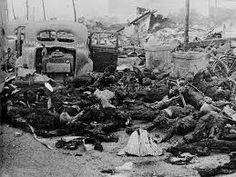 Efectos de la bomba atómica lanzada por EE.UU.