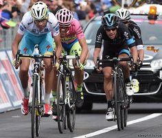 2015 giro-d-italia photos stage-08 - The top 3 GC contenders, Fabio Aru, Alberto Contador and Richie Porte crossed 4th, 5th and 6th + 35s