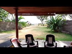 My journey back from Galle and into Tropical Beach House, Hikkaduwa, Sri Lanka (http://www.tropicalbeachhouse.com) in the back of Mahinda's tuk tuk. This particular trip was a shopping trip to Galle and ended with me jumping into the plunge pool to cool off!