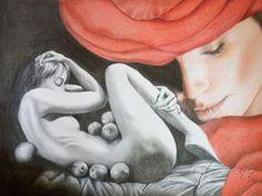 Catawiki, pagina di aste on line  Tiziana Zimbalatti - Femminilità