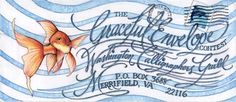 The Graceful Envelope contest, by the Washington Calligraphers Guild. 2010 winner Rhonda Cavanagh