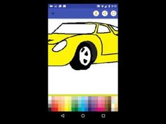 Car Coloring Game Android App