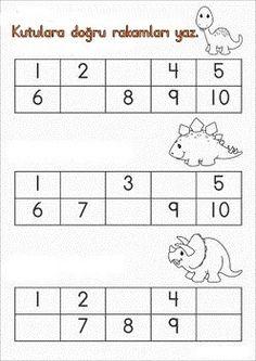Kindergarten Readiness, Kindergarten Math Worksheets, Preschool Learning, Preschool Activities, Teaching, Pre Writing, Math For Kids, Primary School, Kids Education