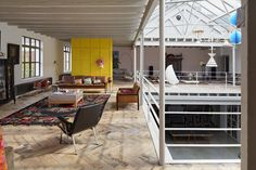 hilberink bosch transforms old garage into integrated live/work space