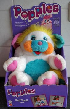popples!!!!! this is the exact one i had...he was one of my very favorite toys!! i wish i knew where this little guy ended up!!