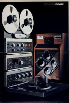 Jazz, Hi-Fi, & Everything Nice! Speaker Amplifier, Hifi Speakers, Hifi Audio, Recording Equipment, Audio Equipment, Audio Sound, Sound Of Music, Speaker Box Design, Tecnologia