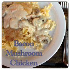 Bacon Mushroom Chicken   #NinjaCookingSystem