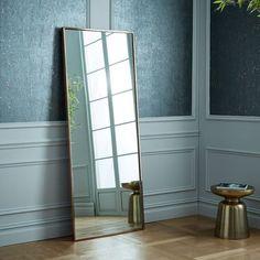 Blair Floor Mirror | Floor mirrors, Floor mirror and Walnut floors