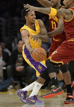 #SoleWatch: Nick Young Wears the 'Prelude' Nike Kobe 4