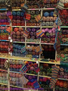 "The ""Have a Yarn"" Shop or as I would call it... paradise"