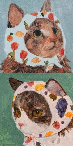Photowall Ideas, Arte Indie, Arte Sketchbook, Pretty Art, Aesthetic Art, Cat Art, Gouache, Cute Drawings, Collage Art