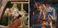 Pietro  Lorenzetti e Affreschi di Nerezi