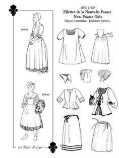 New France Girls Pattern http://www.neheleniapatterns.com