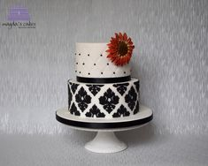 Red sunflower by Magda's Cakes