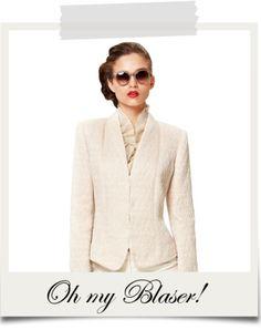 Oh my Blaser! Blazer, Sweaters, Jackets, Women, Fashion, Switzerland, Down Jackets, Moda, Sweater
