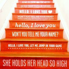 Stairs to The Doors.